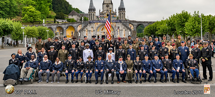 Veterans visit Lourdes in search of healing and peace